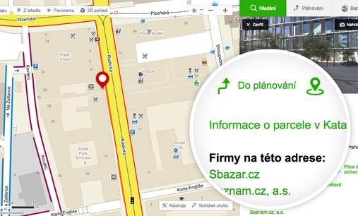 Nová vychytávka na serveru Mapy.cz
