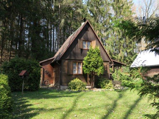 Chata v údolí Doubravy