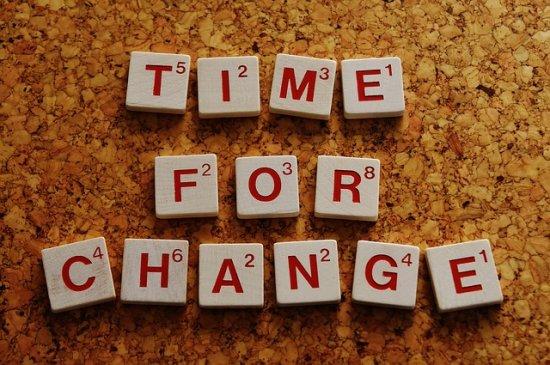 Změna je život