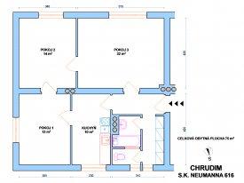 Byt 3+1, Chrudim III